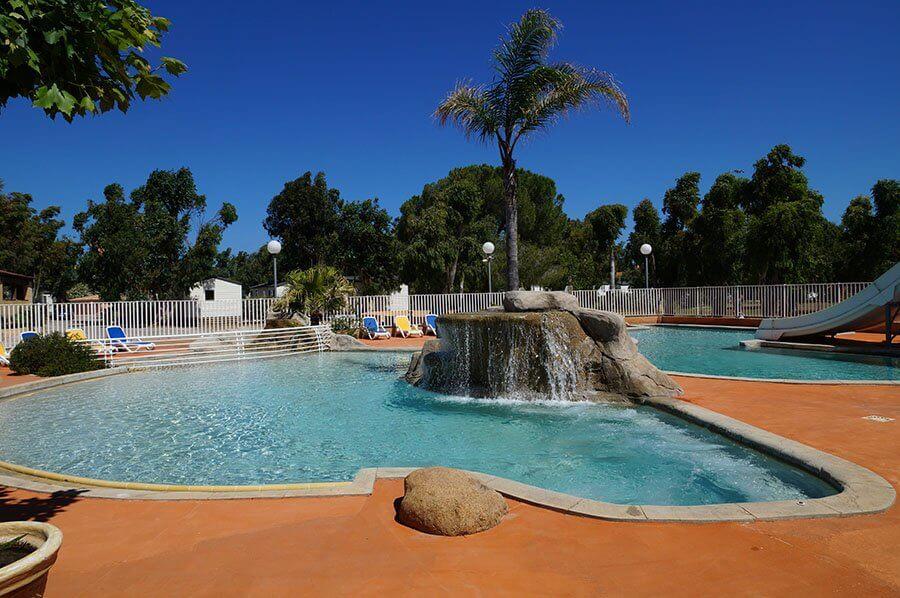 Pisicne chauffée - parc aquatique - Calvi - Corse