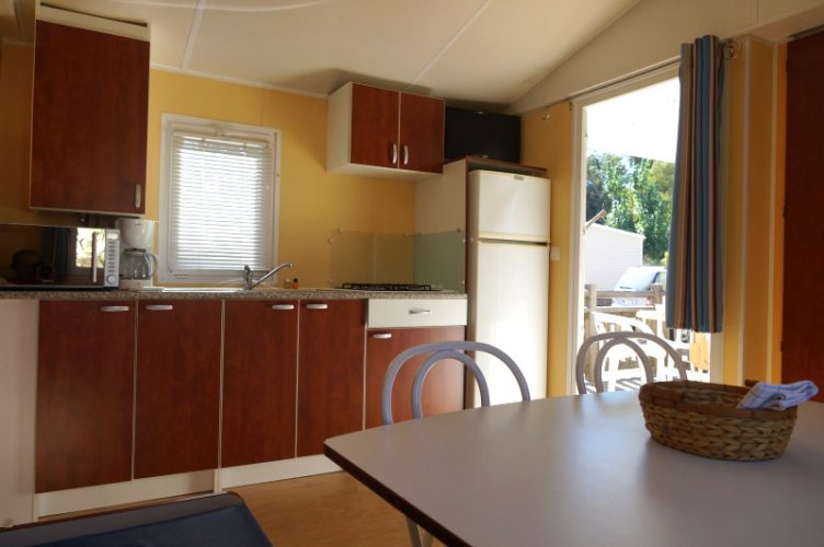 Interieur Mobil-Home Alga Camping International Calvi Corse
