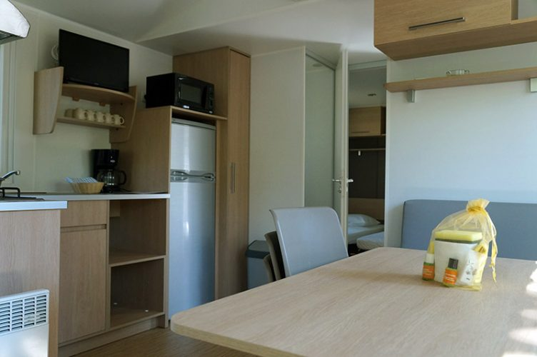 Interieur Mobil-Home Rondinara Camping International Calvi Corse